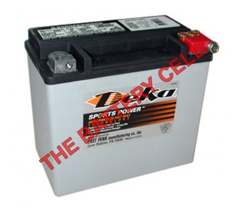 ETX16L  19a/h 325/435cca Dry Cell AGM POWERSPORTS battery