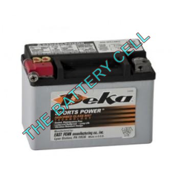 ETX9 8a/h 120/250cca Dry Cell BIG ENGINE Motorcycle battery