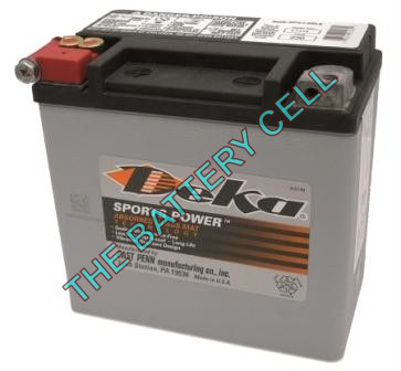 ETX14 12a/h 220/410cca Dry Cell BIG ENGINE Motorcycle battery