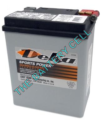 ETX15 14a/h 220/325cca Dry Cell BIG ENGINE Motorcycle battery
