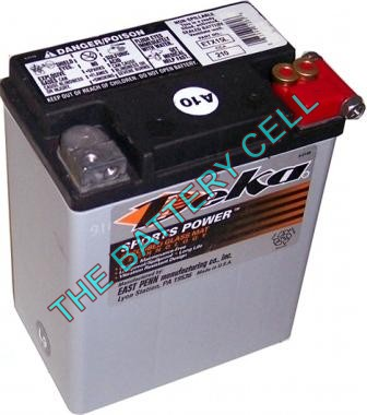 ETX15L 14a/h 220/325cca Dry Cell BIG ENGINE Motorcycle battery