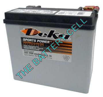 ETX16 19a/h 325/435cca Dry Cell BIG ENGINE Motorcycle battery