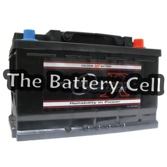 DIN66L MF 620CCA European Car Battery (FREE DELIVERY, no Rural tickets)