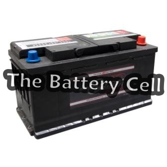 DIN100L MF 820CCA European Car Battery (FREE DELIVERY, no Rural tickets)