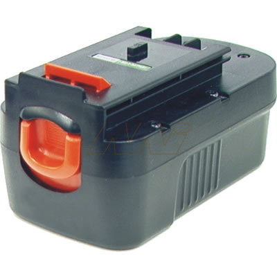Black & Decker FIRESTORM 18V A1718, HPB18 Power Tool Battery (slide)
