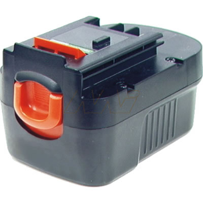 Black & Decker FSB14 Power Tool Battery, 14.4V, 1900mAh, NiCd (slide)