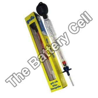 Battery Tester / Tool -Hydrometer High Grade Precision + Temperature
