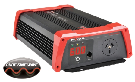 Inverter 12 Volt 600W Pure Sine Wave