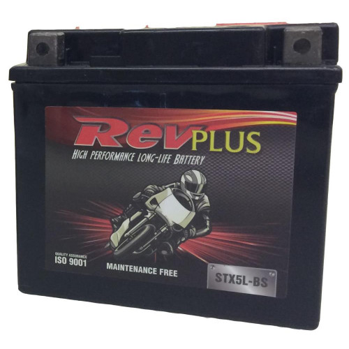 MOTORCYCLE BATTERY YTX5LBS (STX5L-BS) 12V