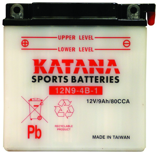 12N9-4B-1 KATANA Motorcycle Battery