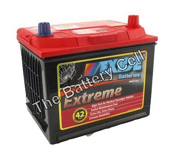 X55D23CMF 12v 650cca EXIDE EXTREME BATTERY (FREE DELIVERY, no Rural tickets)
