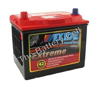 X56DMF 12v 630cca EXIDE EXTREME BATTERY (FREE DELIVERY, no Rural tickets)