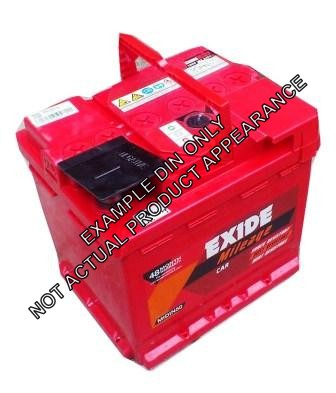 XDIN66MF EXIDE EXTREME BATTERY