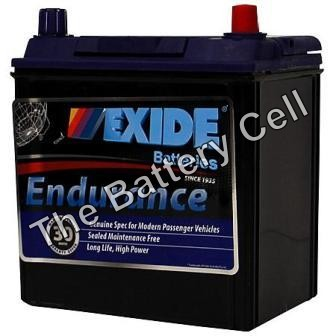 60CPMF 12v 370cca EXIDE ENDURANCE CAR BATTERY (FREE DELIVERY, no Rural tickets)