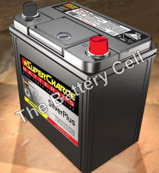 SMFNS40ZALX SuperCharge Silver Car Battery