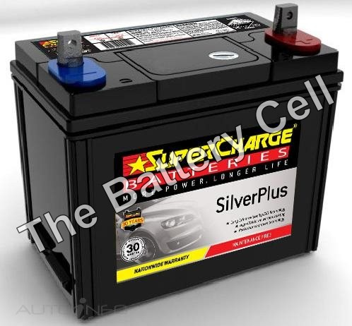 SMF43 SuperCharge Silver Car Battery (FREE DELIVERY, no Rural tickets)