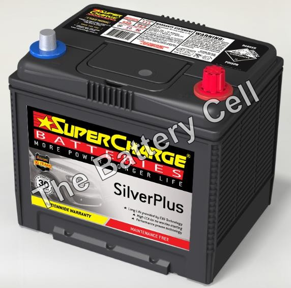 SMF55D23L SuperCharge Silver Battery