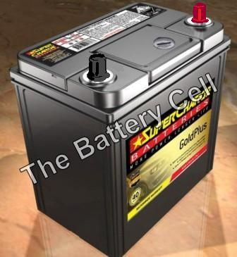 MF40B20L SuperCharge GOLD Car Battery