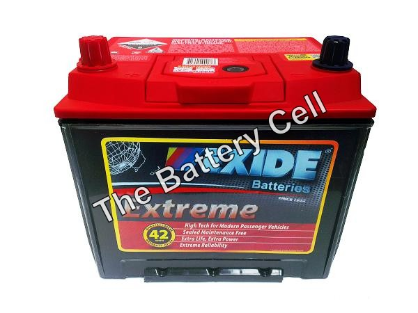 XN50ZZMF EXIDE EXTREME BATTERY