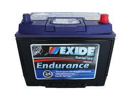 N50ZZL 12v 620cca AUTO/COMMERCIAL EXIDE ENDURANCE BATTERY (FREE DELIVERY, no Rural tickets)