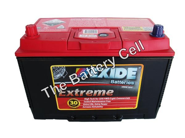 XN70ZZMF EXIDE EXTREME BATTERY