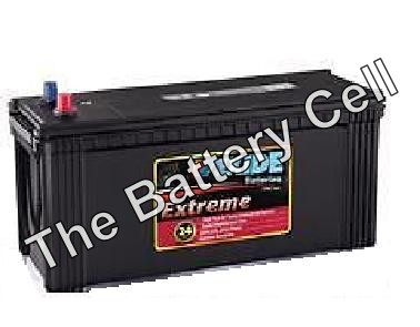 N120 12v 930cca EXIDE EXTREME COMMERCIAL BATTERY (FREE DELIVERY, no Rural tickets)
