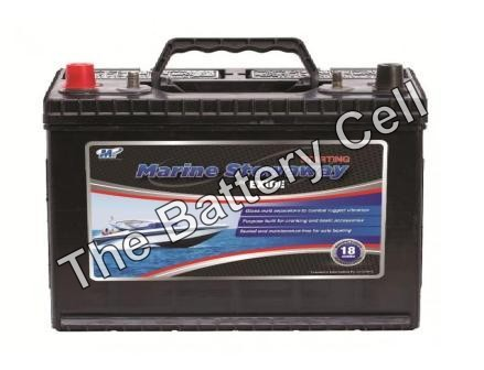 STOWAWAY Exide Marine Start battery 12v 730cca MSST27