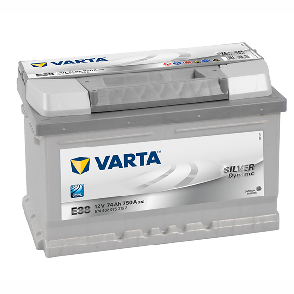 VARTA German Made 12v Car battery E38, 574 402 075 316 2, DIN66/63 (FREE DELIVERY, no Rural tickets)