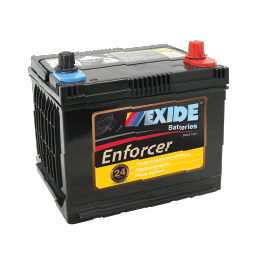 ENS50PLMF 12v 480cca EXIDE ENFORCER BATTERY (FREE DELIVERY, no Rural tickets)