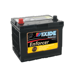 ENS50PMF 12v 480cca EXIDE ENFORCER BATTERY (FREE DELIVERY, no Rural tickets)