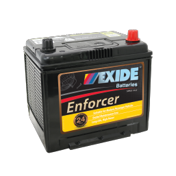 EN55D23LMF 12v 500cca EXIDE ENFORCER BATTERY (FREE DELIVERY, no Rural tickets)