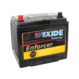EN55D23RMF 12v 500cca EXIDE ENFORCER BATTERY (FREE DELIVERY, no Rural tickets)