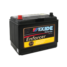 ENS70MF 12v 535cca AUTO/COMMERCIAL BATTERY EXIDE ENFORCER (FREE DELIVERY, no Rural tickets)