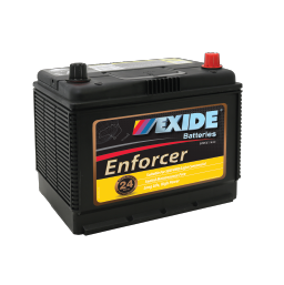 ENS70LMF 12v 535cca AUTO/COMMERCIAL BATTERY EXIDE ENFORCER (FREE DELIVERY, no Rural tickets)