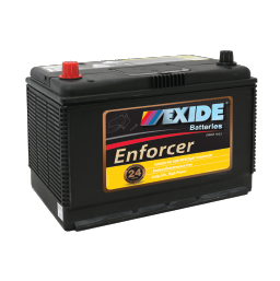 EN70ZZMF 12v 640cca AUTO/COMMERCIAL BATTERY EXIDE ENFORCER (FREE DELIVERY, no Rural tickets)