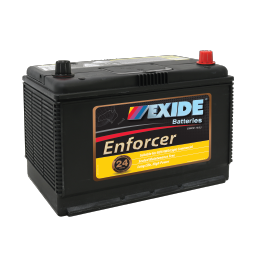 EN70ZZLMF 12v 640cca AUTO/COMMERCIAL BATTERY EXIDE ENFORCER (FREE DELIVERY, no Rural tickets)