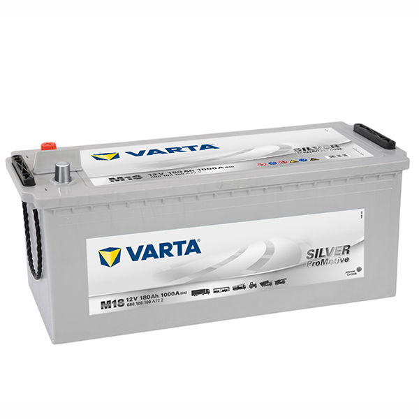 Varta Commercial Battery Promotive Silver M18, DIN165D (FREE DELIVERY, no Rural tickets)