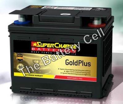 MF44 SuperCharge GOLD 12V 510CCA Battery (FREE DELIVERY, no Rural tickets)