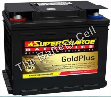 MF55R SuperCharge GOLD 12V 590CCA Battery (FREE DELIVERY, no Rural tickets)