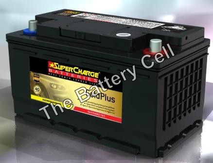 MF77H SuperCharge GOLD 12V 780CCA Battery (FREE DELIVERY, no Rural tickets)