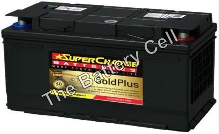 MF88H SuperCharge GOLD 12V 900CCA Battery (FREE DELIVERY, no Rural tickets)