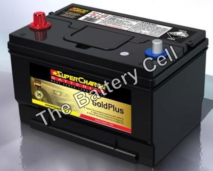MF65 SuperCharge GOLD 12V 780CCA Battery (FREE DELIVERY, no Rural tickets)