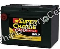 MF78 SuperCharge GOLD 12V 760CCA Battery (FREE DELIVERY, no Rural tickets)