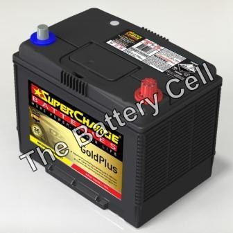 MF80D26L AUTO/COMMERCIAL SuperCharge GOLD 12V 720CCA Battery (NS70L) (FREE DELIVERY, no Rural tickets)