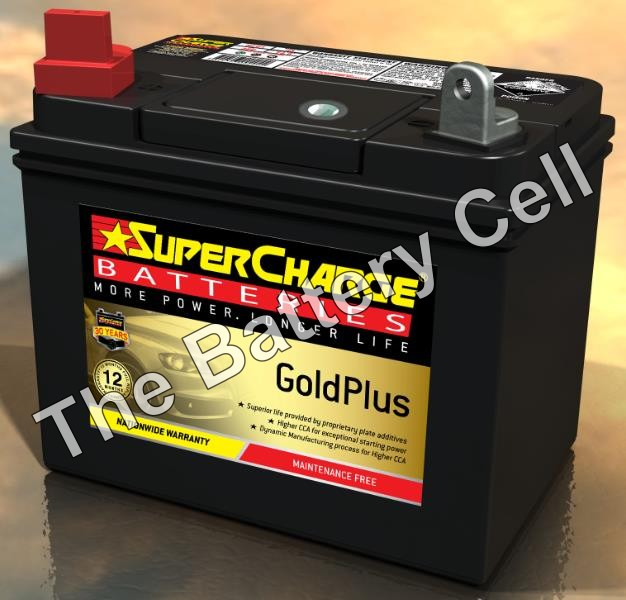 MFU1 SuperCharge GOLD Battery (Mower Battery)