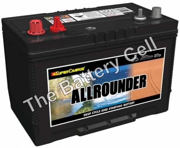 MRV70 Supercharge Dual purpose Battery 12v 760cca, 105ah (FREE DELIVERY, no Rural tickets)