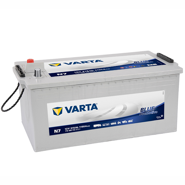 Varta Commercial/cycle Battery Blue Promotive, N7, N200 (FREE DELIVERY, no Rural tickets)