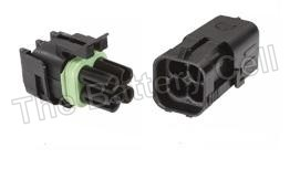 Waterproof Wire connectors 4-way Male + Female 20a PKT