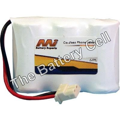 Cordless Phone Battery, 3.6V, NiMH, TBCCTB80 (various models)