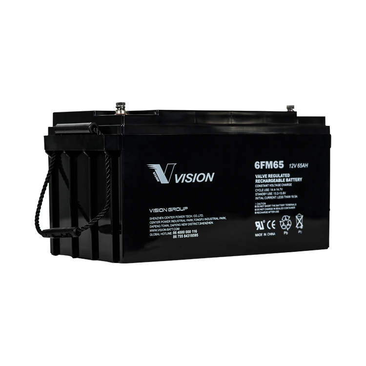 Vision 12v 65ah Battery (FREE DELIVERY, no Rural tickets)